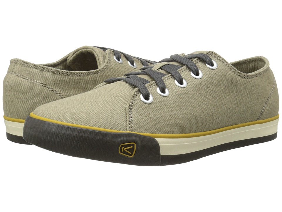 Keen - Timmons Low Lace Canvas (Brindle) Men