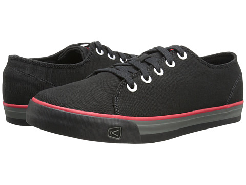 Keen - Timmons Low Lace Canvas (Black) Men's Lace up casual Shoes