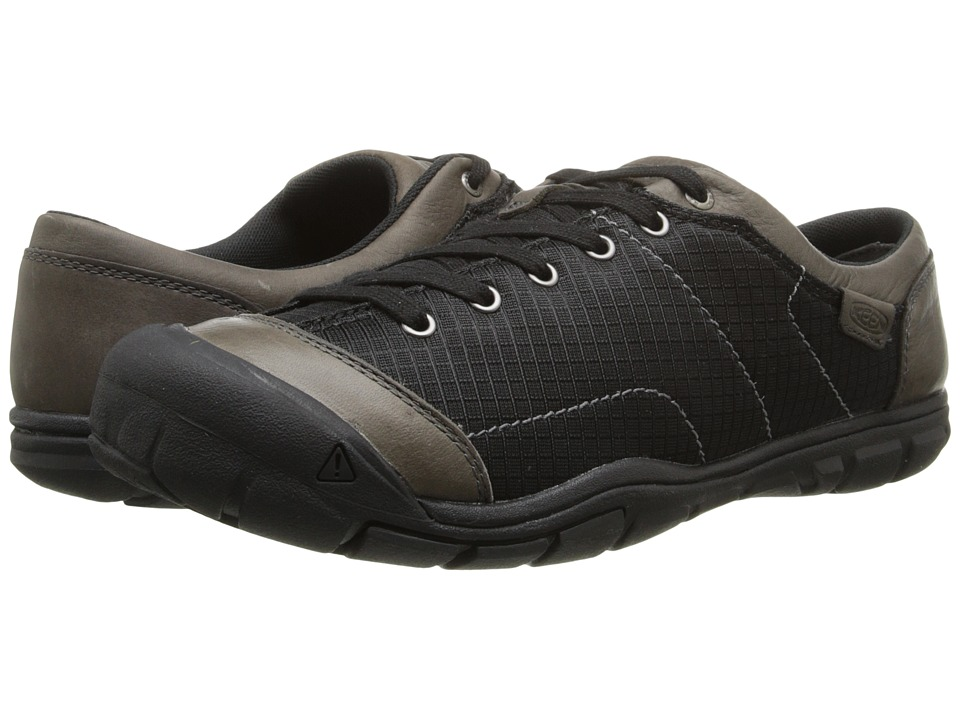 Keen - CNX II Lace Mesh (Black) Men's Lace up casual Shoes