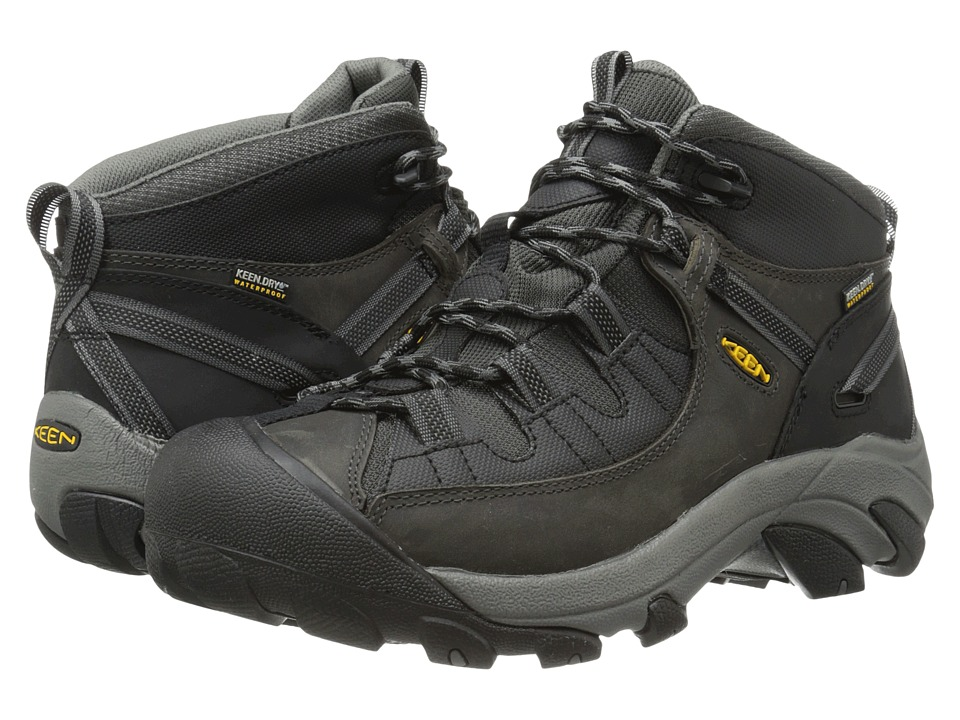 Keen - Targhee II Mid - Tac (Raven/Black) Men's Hiking Boots