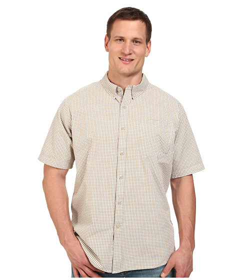 Columbia - Big Tall Rapid Rivers II Short Sleeve Shirt (Fossil) Men's Short Sleeve Button Up