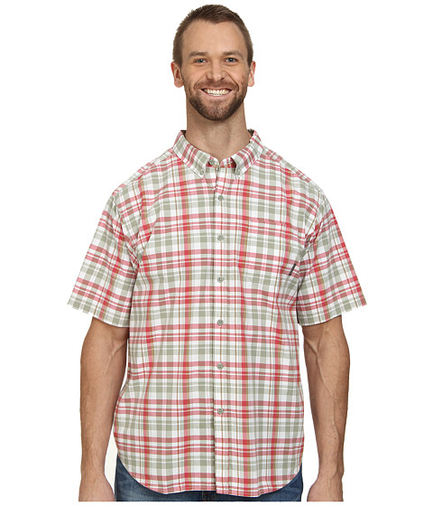 Columbia - Big Tall Rapid Rivers II Short Sleeve Shirt (Sunset Red) Men's Short Sleeve Button Up