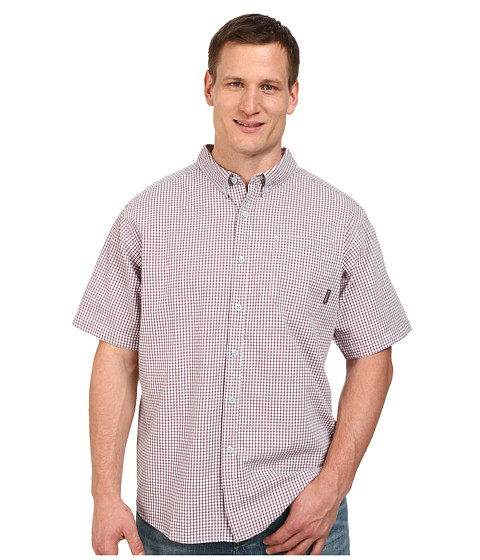 Columbia - Big Tall Rapid Rivers II Short Sleeve Shirt (Blue Heron) Men's Short Sleeve Button Up