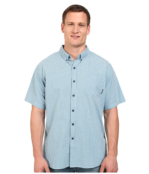 Columbia - Big Tall Rapid Rivers II Short Sleeve Shirt (Carbon 1) Men's Short Sleeve Button Up