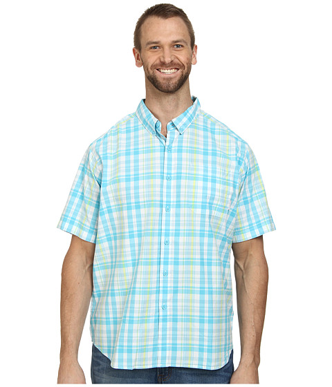 Columbia - Big Tall Rapid Rivers II Short Sleeve Shirt (Oxygen) Men's Short Sleeve Button Up