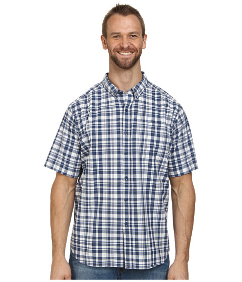 Columbia - Big Tall Rapid Rivers II Short Sleeve Shirt (Shark) Men's Short Sleeve Button Up