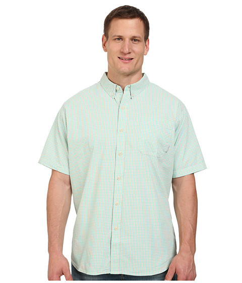 Columbia - Big Tall Rapid Rivers II Short Sleeve Shirt (Gulf Stream) Men's Short Sleeve Button Up