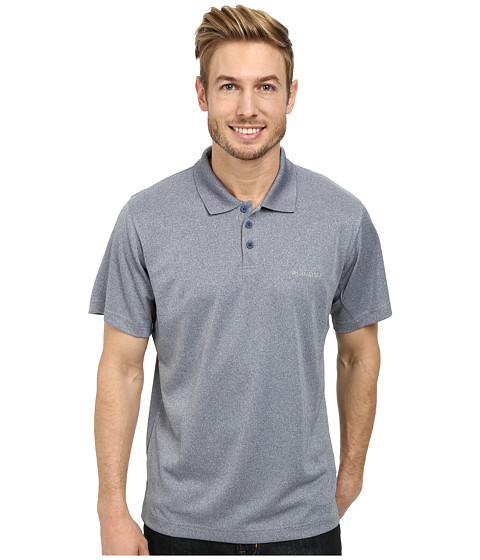 Columbia - New Utilizer Polo (Carbon Heather) Men's Short Sleeve Pullover