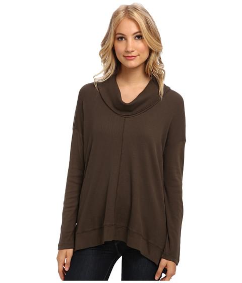 Splendid - Cowl Neck Tunic (Olive) Women's T Shirt
