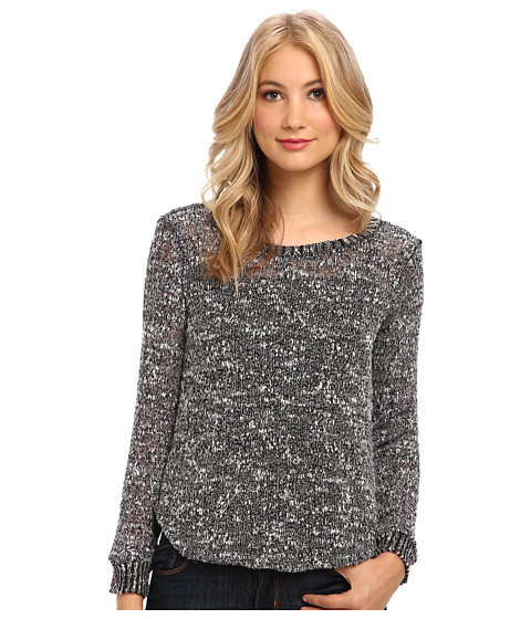 Splendid - Pullover Top (Heather Charcoal) Women