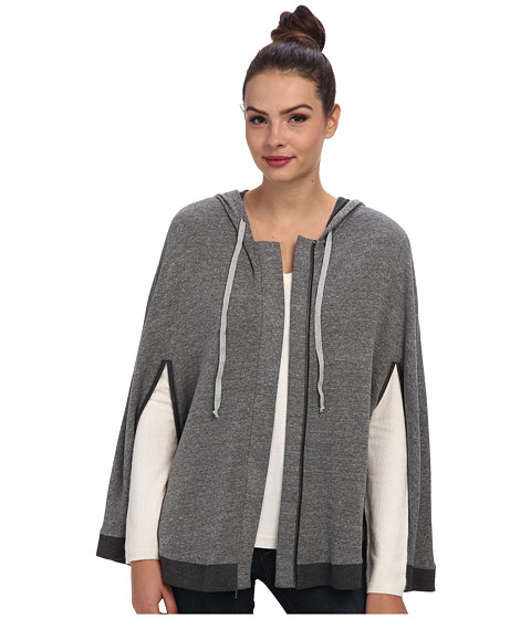 Splendid - Sparkle Cape (Heather Grey) Women's Coat