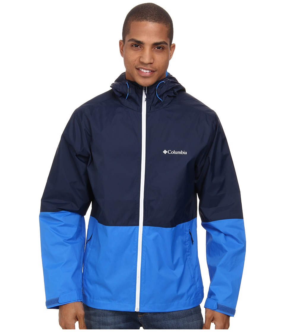 Columbia - Roan Mountain Jacket (Collegiate Navy/Hyper Blue) Men's Coat