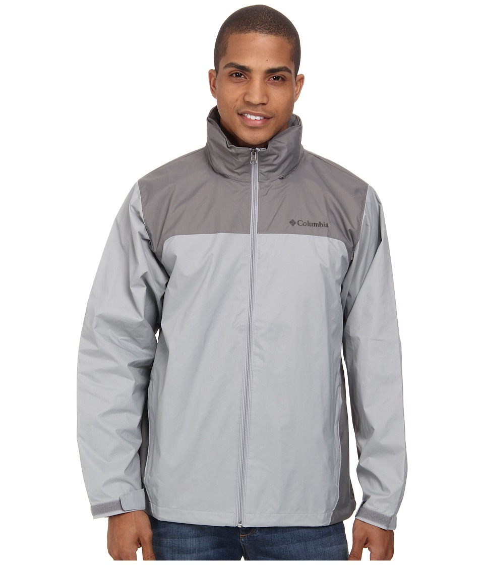 Columbia - Glennaker Lake Rain Jacket (Columbia Grey/Boulder) Men's Coat