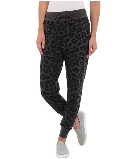 Splendid - Leopard Print Sweatpants (Lead) Women