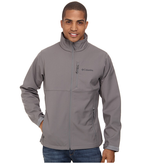 Columbia - Ascender Softshell Jacket (Boulder) Men's Coat