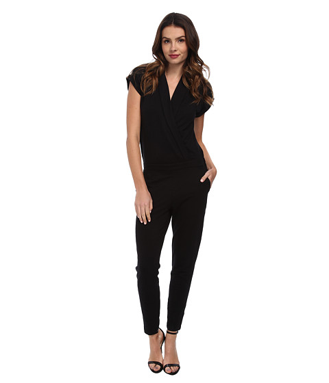 Splendid - Tuxed Jumper (Black) Women's Jumpsuit & Rompers One Piece