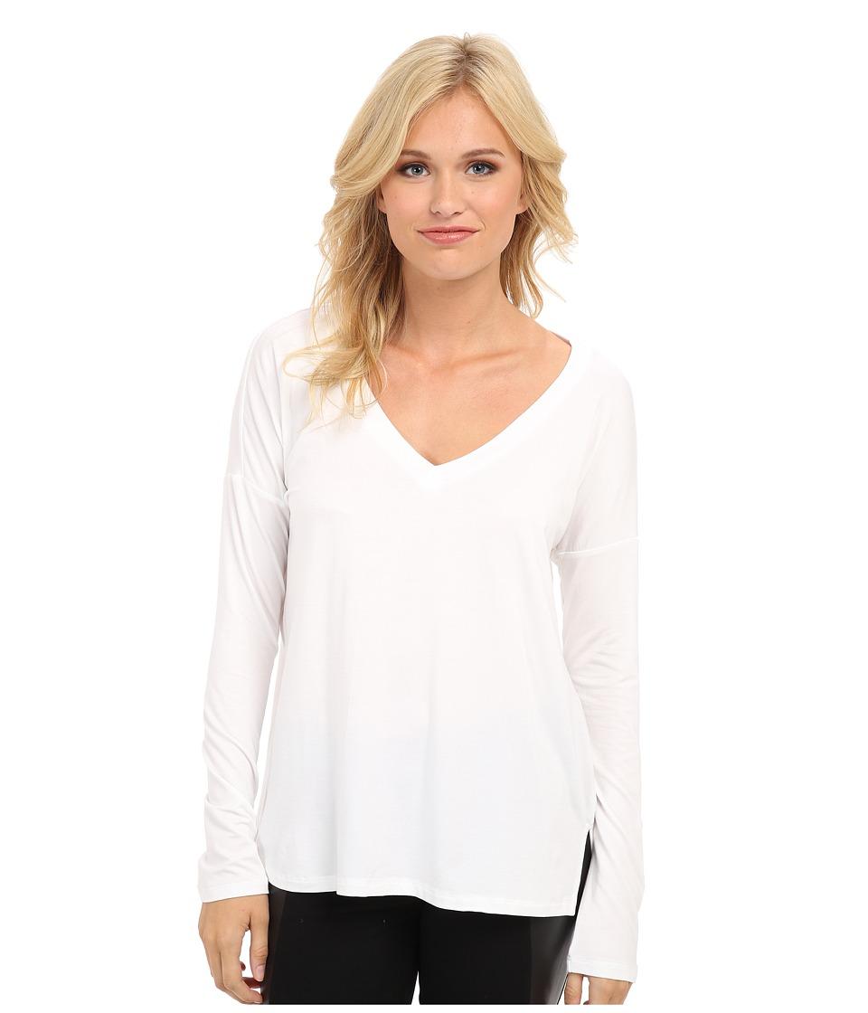 Splendid - Dolman Top (White) Women's Long Sleeve Pullover