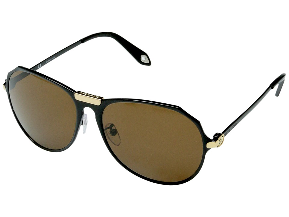 Givenchy - SGV A11 (Black Gold/Brown) Fashion Sunglasses