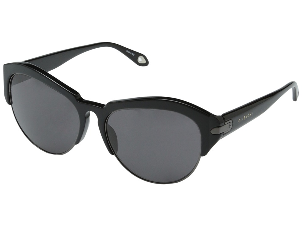 Givenchy - SGV 881 (Black Gun/Grey) Fashion Sunglasses