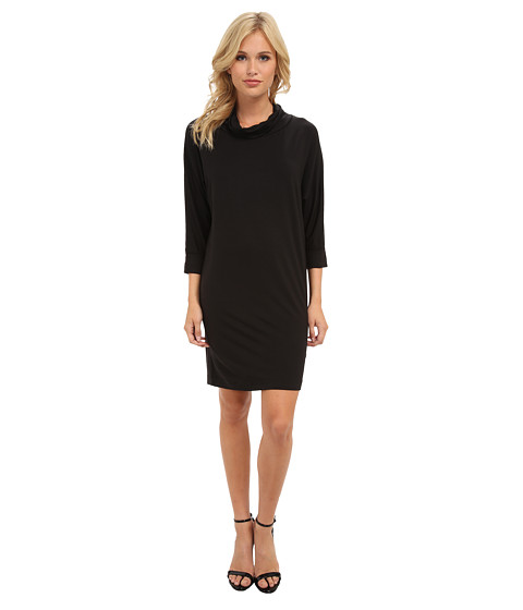 Splendid - Turtle Neck Dress (Black) Women
