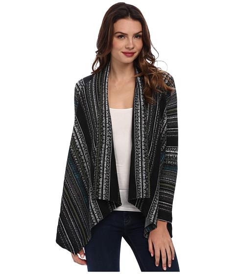 Splendid - Drape Front Cardi (Olive) Women's Sweater