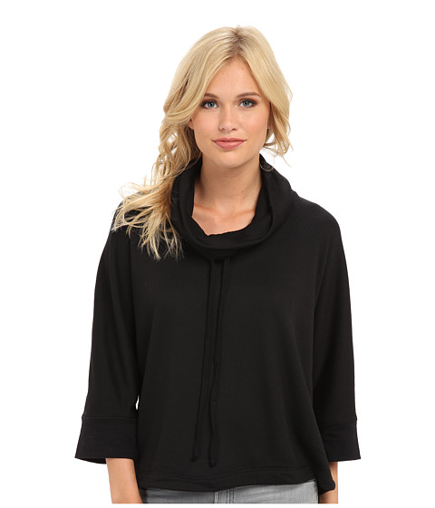 Splendid - Cowl Neck Poncho (Black) Women
