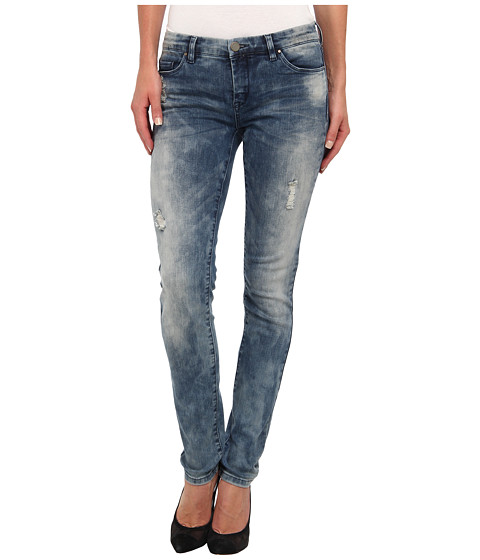 Blank NYC - Skinny Classique w/ Rips in Denim Blue (Denim Blue) Women's Jeans