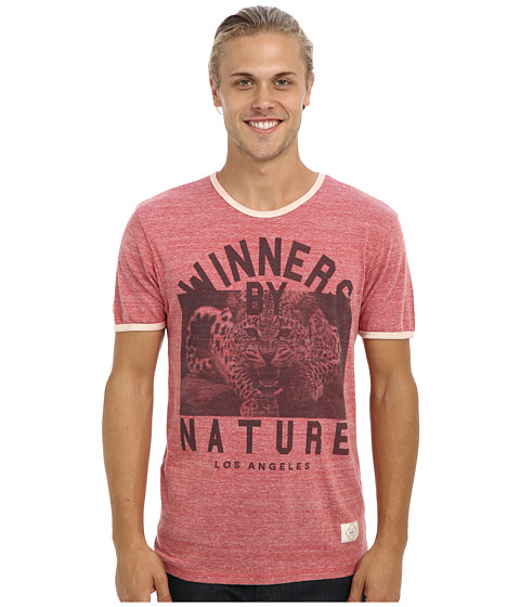 KINETIX - Winners By Nature T-Shirt (Heather Red) Men's Short Sleeve Pullover