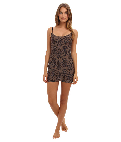 Commando - Mini Cami Slip Print MNCS02 (Lace Noir) Women