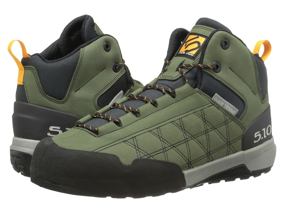 Five Ten - Guide Tennie Mid (Base Green) Men's Hiking Boots