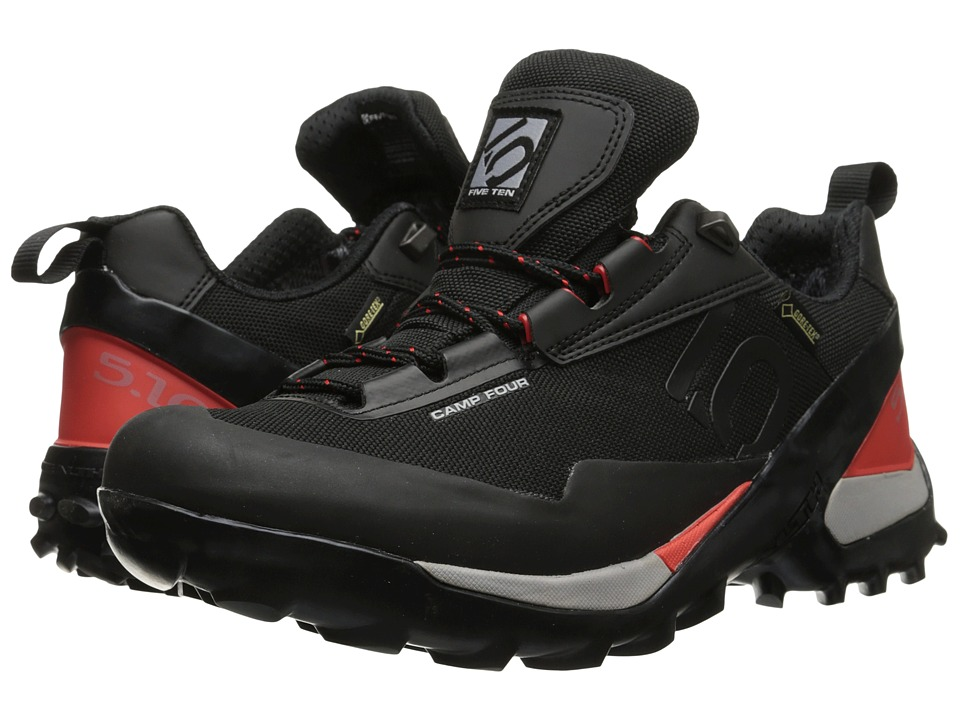 Five Ten - Camp 4 GTX (Black/Red) Men's Shoes
