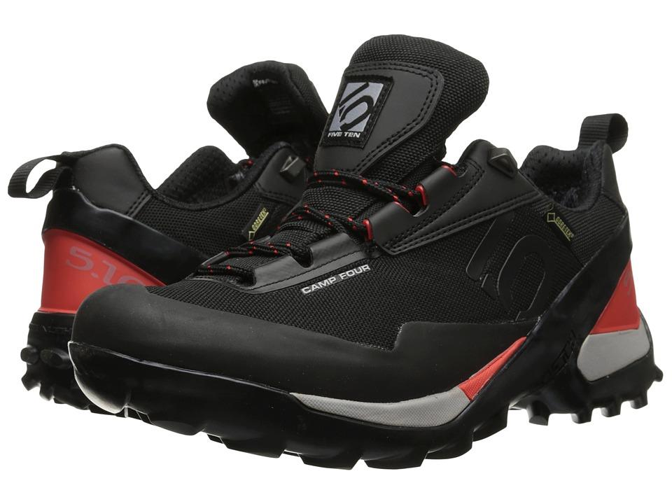 Five Ten - Camp 4 GTX (Black/Red) Men's Shoes