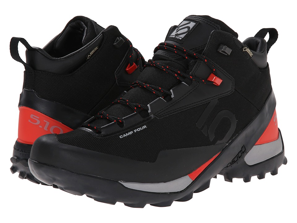 Five Ten - Camp 4 Mid GTX (Black/Red) Men's Shoes