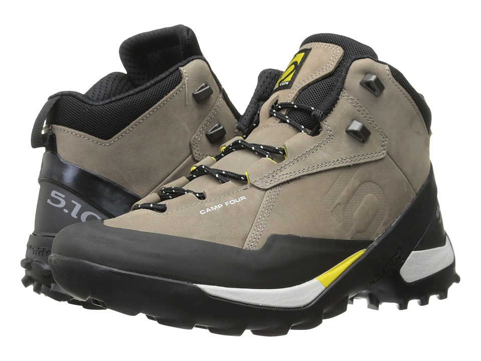 Five Ten - Camp Four Mid (Brown/Yellow) Men's Shoes