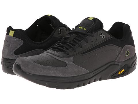 Hi-Tec - V-Lite Walk-Lite Wallen (Charcoal/Chartreuse) Men's Boots