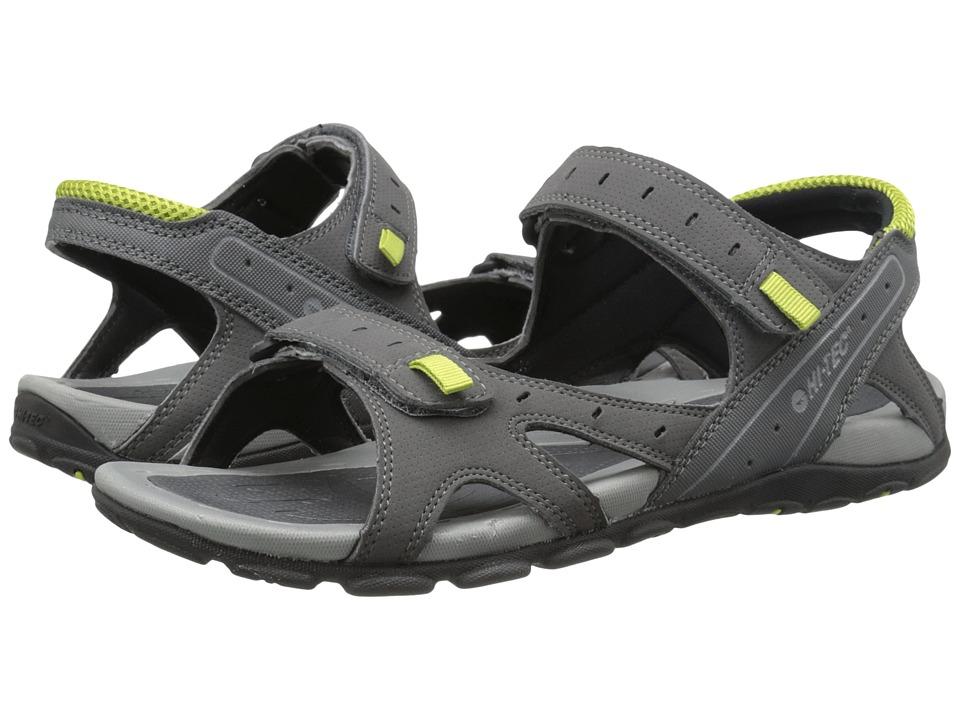 Hi-Tec Laguna Strap (Charcoal/Black/Chartreuse) Men