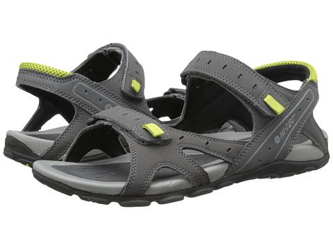 Hi-Tec - Laguna Strap (Charcoal/Black/Chartreuse) Men's Boots