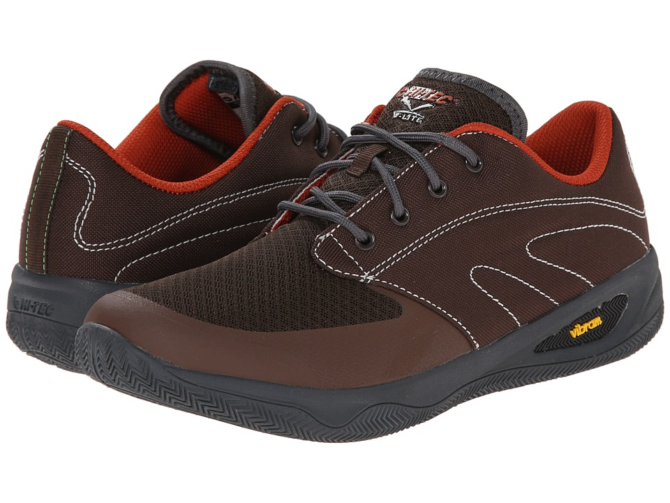 Hi-Tec - V-Lite Rio Quest I (Brown/Graphite/Red Rock) Men