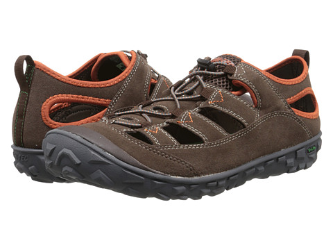 Hi-Tec - Ezeez Shandal I (Chocolate/Red Rock) Men