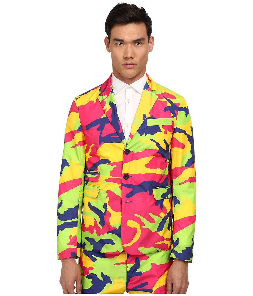 DSQUARED2 - Schoolboy Camouflage Nylon Blazer (Multi) Men's Jacket