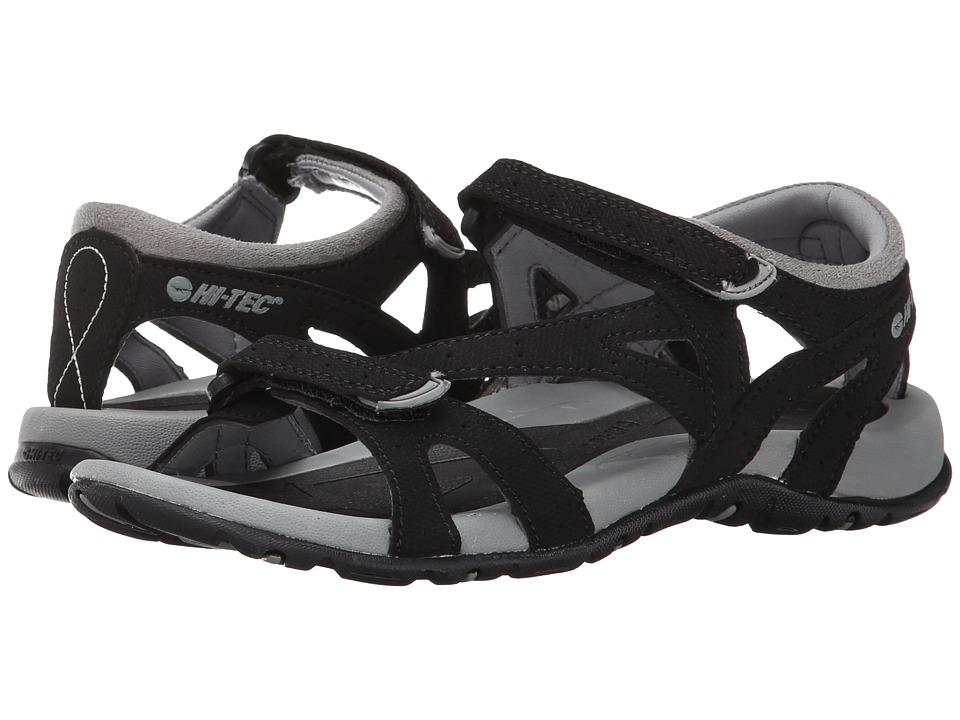 Hi-Tec - Galacia Strap (Black/Grey) Women's Boots