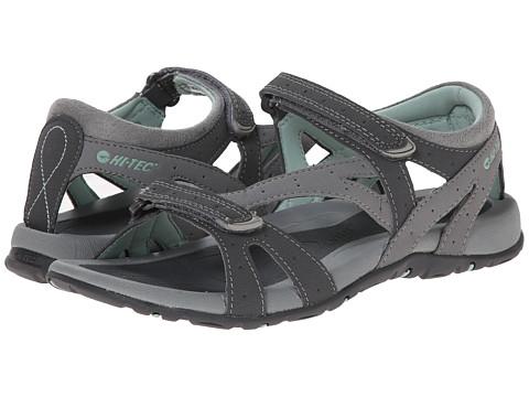 Hi-Tec - Galacia Strap (Grey/Charcoal/Lichen) Women's Boots