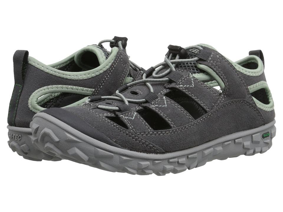 Hi-Tec - Ezeez Shandal (Charcoal/Cool Grey/Lichen) Women's Boots