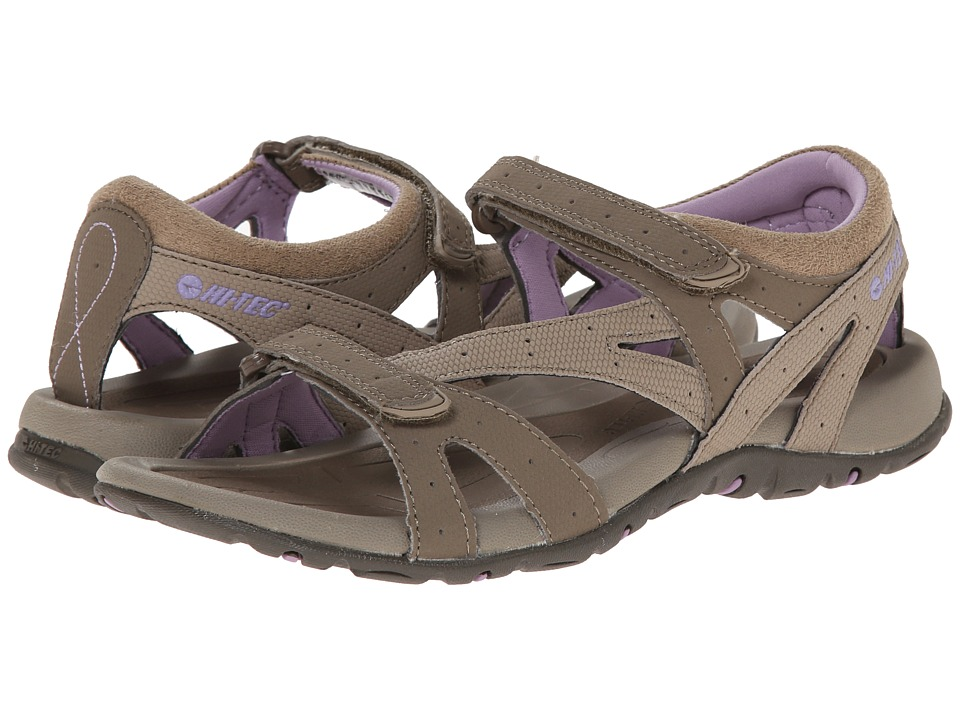 Hi-Tec - Galacia Strap (Taupe/Dune/Elderberry) Women's Boots
