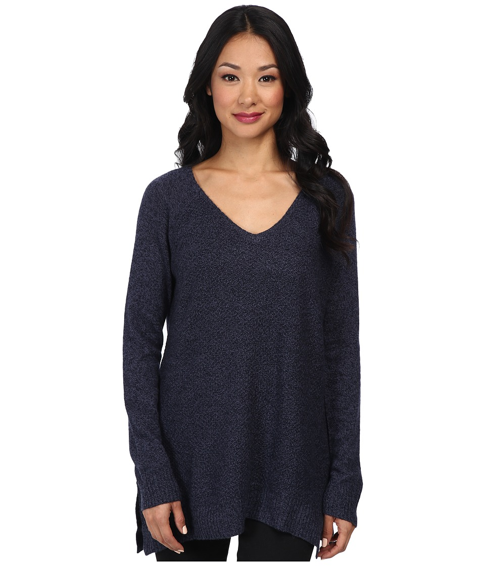 LAmade - Cashmere L/S Tunic Sweater (Denim) Women's Sweater