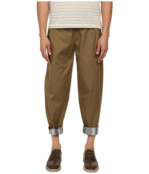 McQ - Dart Trouser (Khaki) Men's Casual Pants