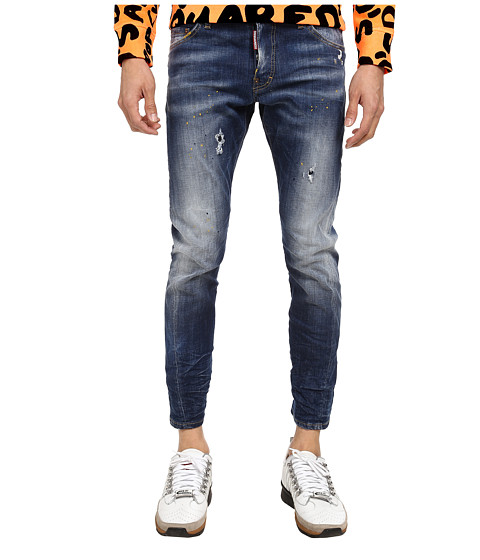 DSQUARED2 - Taxi Wash M. B. Jean (Blue) Men's Jeans