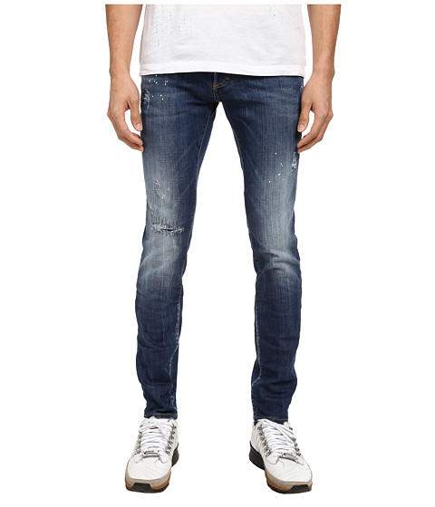 DSQUARED2 - Press Wash Slim Jean (Blue) Men's Jeans
