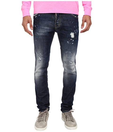 DSQUARED2 - Blue Blur Wash Cool Guy Jean (Blue) Men's Jeans