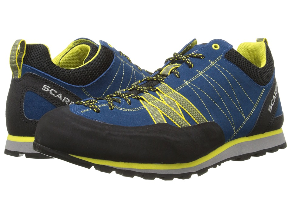 Scarpa - Crux (Hyper Blue/Yellow) Men's Shoes